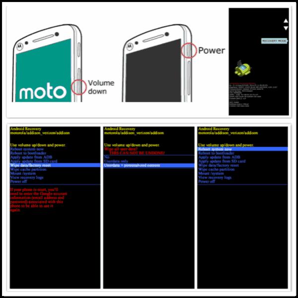 Motorola entsperren