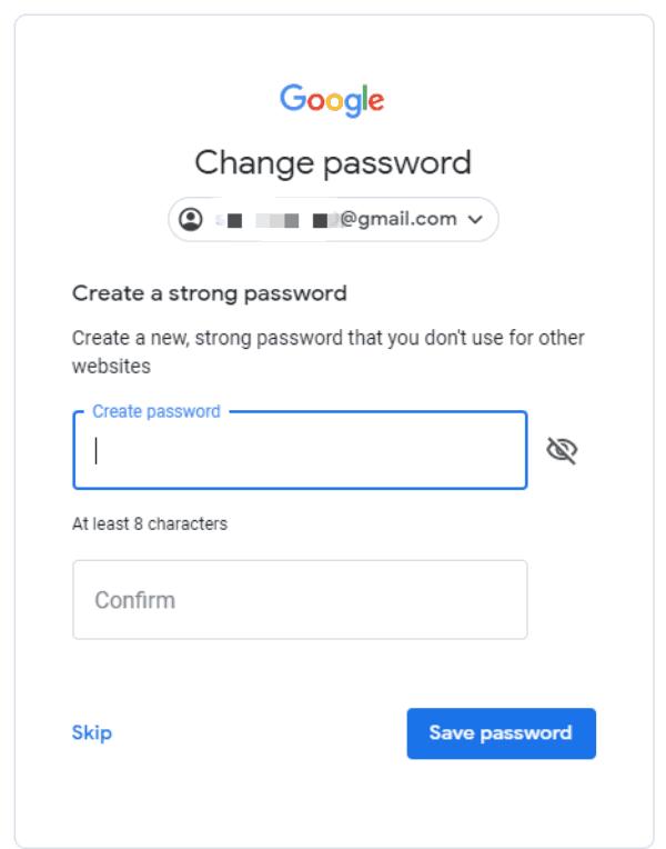 google konto passwort vergessen
