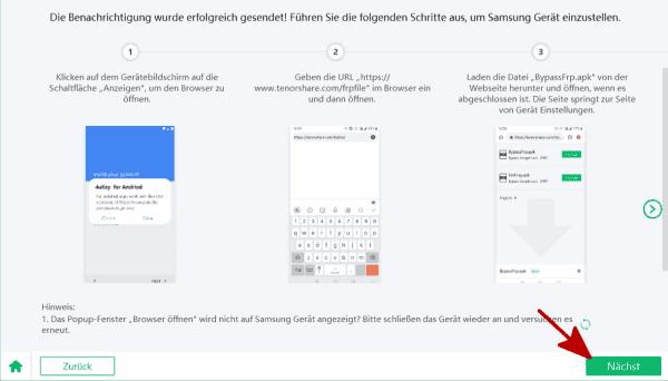 Samsung handy entsperren Google konto