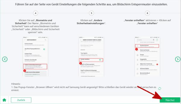 Samsung konto löschen ohne passwort