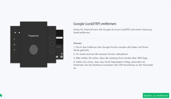 Samsung FRP lock entfernen