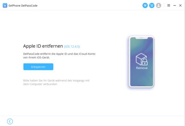iCloud abmelden ohne passwort