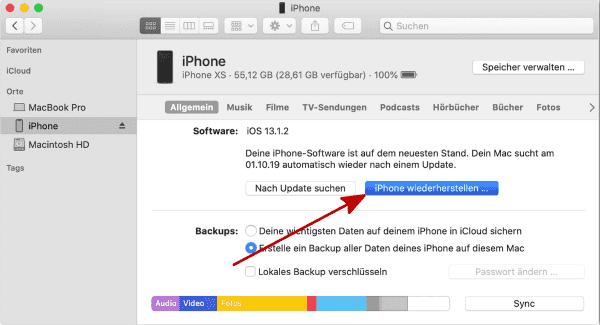 Apple ID entfernen ohne passwort