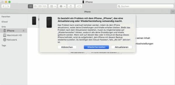 iPad ist deaktiviert