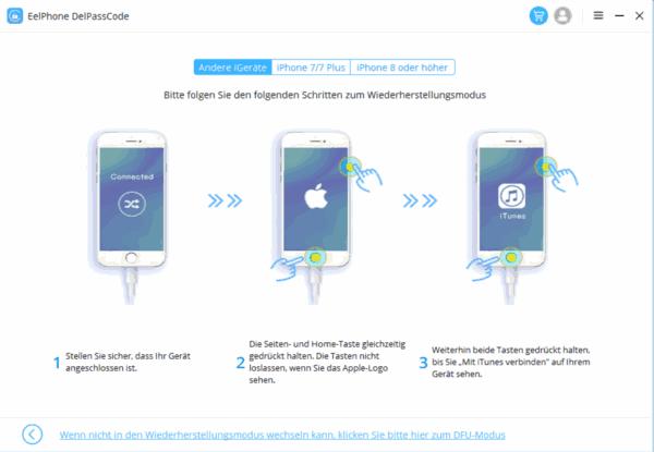 iPhone entsperren ohne code