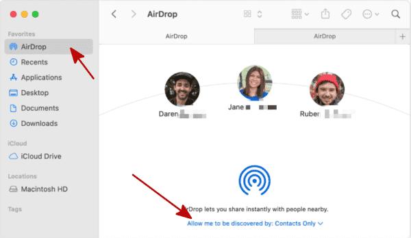AirDrop Funktioniert Nicht