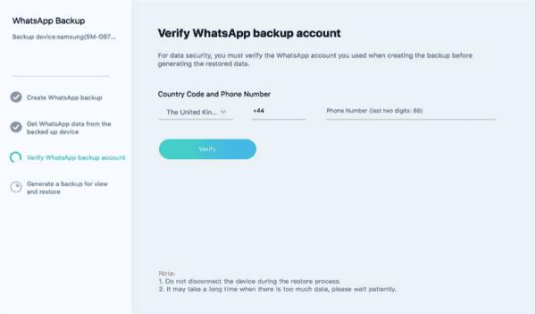 WhatsApp Backup Android