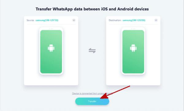 WhatsApp verlauf von Samsung auf Huawei