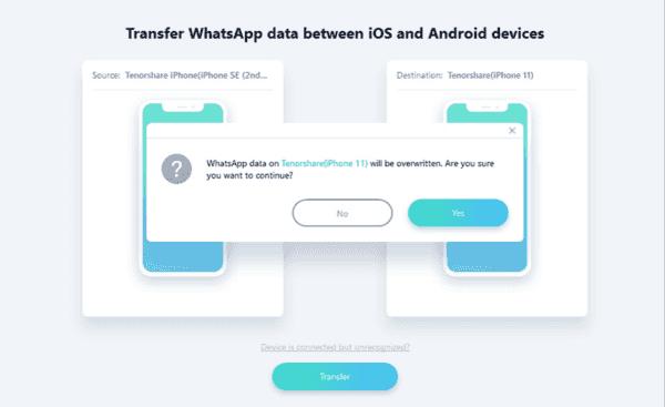 WhatsApp auf Neues Handy übertragen